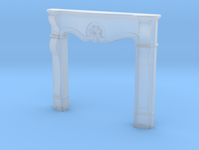 1:48 Fancy Fireplace in Smooth Fine Detail Plastic