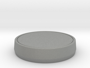 Single Part Base - Suitable for custom Amiibo in Gray PA12