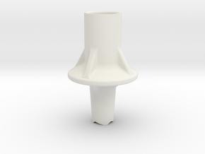Trekking Pole Tip/Basket (Black Diamond TechTip) in White Natural Versatile Plastic