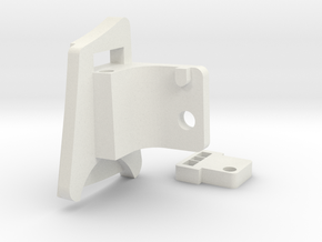 V-Force Grill Sony Action Cam Mount (Left Side) in White Natural Versatile Plastic