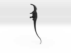 Amargasaurus 1:30 in Black Natural Versatile Plastic