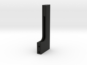 Carriage encoder arm for Neumann VMS lathes in Black Natural Versatile Plastic