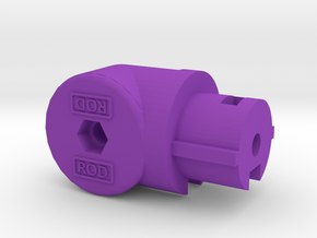 BufferTubeMount GEN4 in Purple Processed Versatile Plastic
