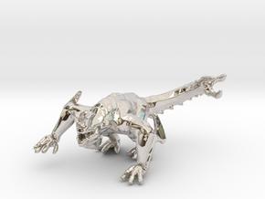 Pacific Rim Otachi kaiju monster miniature gameRPG in Rhodium Plated Brass