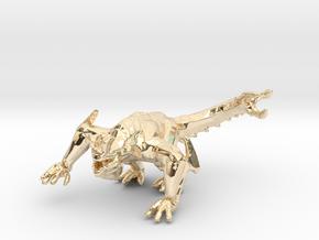Pacific Rim Otachi kaiju monster miniature gameRPG in 14K Yellow Gold