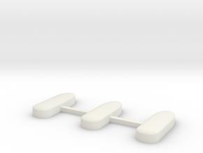 Transportbox for Car 1_87 in White Natural Versatile Plastic