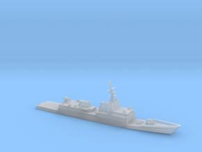 1/2400 Scale General Dynamics FFG(X) Proposal in Smooth Fine Detail Plastic