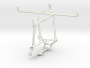 Controller mount for Steam & Realme XT - Top in White Natural Versatile Plastic