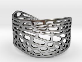 Dragonfly Wing Bracelet - Medium in Antique Silver