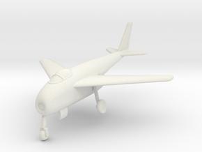 1/144 Messerchmitt P.1101 in White Natural Versatile Plastic