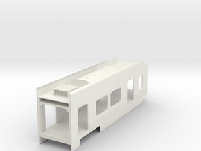 P2550 Coach in White Natural Versatile Plastic