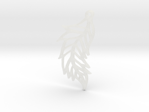 :Featherflight: Pendant in Smooth Fine Detail Plastic