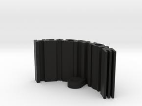 Headphone Stand in Black Natural Versatile Plastic