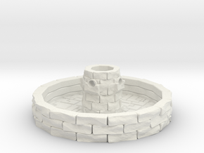 Water Fountain 1/35 in White Natural Versatile Plastic