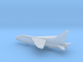 Vought F-8 Crusader in Smooth Fine Detail Plastic: 1:350