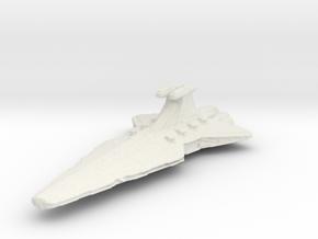 5000 Republic Venator class Star Wars in White Natural Versatile Plastic