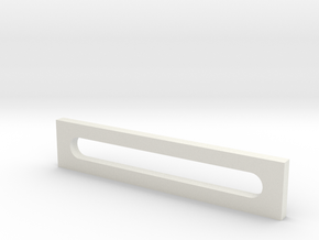 Long Bracket for Mini Mill Table in White Natural Versatile Plastic: Medium