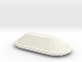 1/72 Scale 15 Person Inflatable Lifeboat Mk 3 in White Natural Versatile Plastic