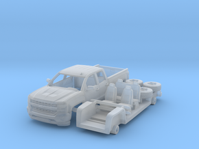 Chevy Silverado 1-87 HO Scale  in Smooth Fine Detail Plastic