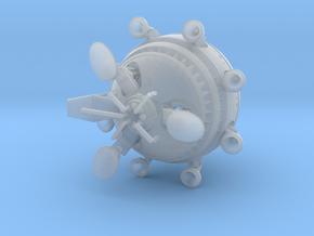 scifi ET movie spaceship 1/400 in Smoothest Fine Detail Plastic