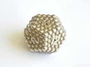 D12 Balanced - Balls in Polished Bronzed-Silver Steel