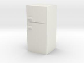 Fridge 1/35 in White Natural Versatile Plastic