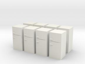 Fridge (x8) 1/220 in White Natural Versatile Plastic