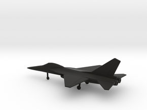 AIDC F-CK-1A Ching-kuo in Black Natural Versatile Plastic: 1:160 - N