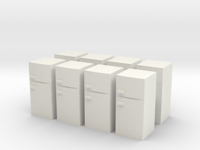 Fridge (x8) 1/285 in White Natural Versatile Plastic