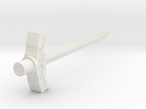 YU-DO Ryusoul Master Sword in White Natural Versatile Plastic