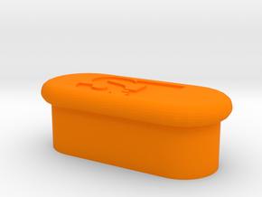 FrontVerdunklungsZusammenhalteTeil in Orange Processed Versatile Plastic