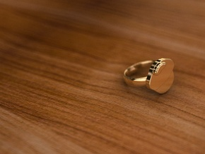 Pikabu Classical RIng 14k gold 6,5size  in 14K Yellow Gold