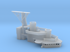 1/96 USS St. Paul Enclosed Bridges part 3 of 3 in Smooth Fine Detail Plastic