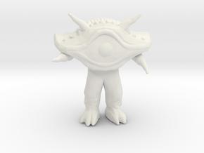 Ultraman Gan Q kaiju monster miniature games rpg in White Natural Versatile Plastic