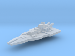 Gundam Rewloola-class in Smooth Fine Detail Plastic
