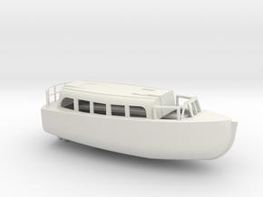 1/72 Scale 28 ft Personnel Boat Mk 4 in White Natural Versatile Plastic