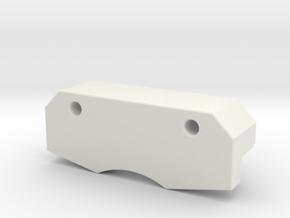 RA Printer Cap Other Side in White Natural Versatile Plastic