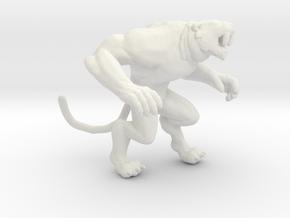 Primal Rage Slash Fang kaiju monster miniature gam in White Natural Versatile Plastic