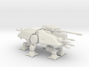 Star Wars AT-TE Walker 6mm Epic miniature in White Natural Versatile Plastic