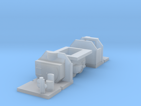 3mm Scale Bulleid Leader Scratch Aid – Cabs & Ashp in Smooth Fine Detail Plastic