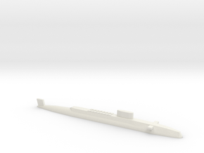 HMS Resolution SSBN, 1/1250 in White Natural Versatile Plastic
