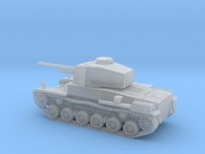 1/144 IJA Type 3 Chi-Nu Medium Tank in Smooth Fine Detail Plastic