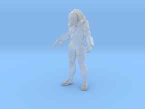 Predator Miniature for scifi games and rpg in Smooth Fine Detail Plastic