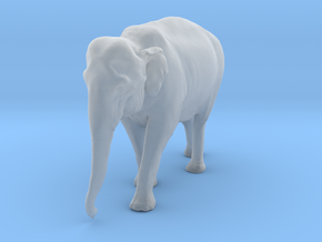 Indian Elephant 1:16 Walking Female in Smooth Fine Detail Plastic
