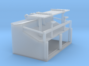 1/87th Speed Loader Bucket for Excavator in Smooth Fine Detail Plastic