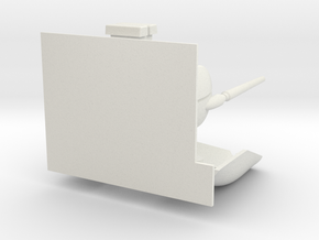 Macross VF-1D 55 Upgrade Kit (Without Gun Holder) in White Natural Versatile Plastic