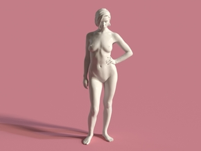 Anais - Daring - Scale 1:5 in White Natural Versatile Plastic
