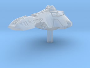 Exploration Vessel in Smooth Fine Detail Plastic