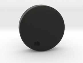 Throat Mic Cap in Black Natural Versatile Plastic