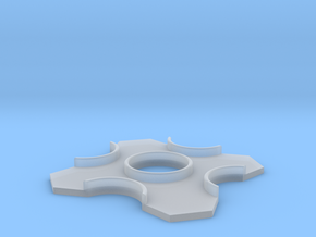 S-II Heat Shield 1:96 in Smooth Fine Detail Plastic